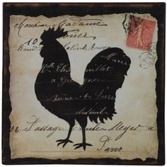 Rooster Farm Animal Country Rustic Tin Sign $12.95