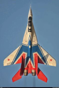 Стрижи. one of the MiG-29s of the SWIFTs