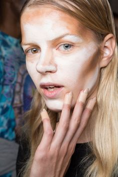Pin for Later: Seriously, Has Contouring Gone Too Far? Hood by Air Spring 2016
