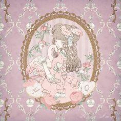 "poisoned-apple: "" Illustration by Kira Imai for Kera magazine 2015 Tea Party. """