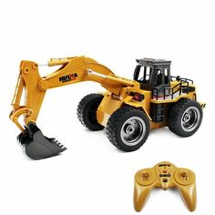 Huina 1530 Remote Control truck Six Channel Rc Alloy Metal Excavator With Charging Battery children Toys Car Christmas Gifts Remote Control Boat, Radio Control, Berlin Zehlendorf, Nitro Boats, Boat Radio, Toy Cars For Kids, Rc Trucks, Christmas Gifts For Kids, Rc Cars