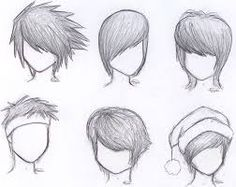 Image result for how to draw a head shape for hot anime boys