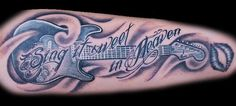 Image result for sing it sweet in heaven tattoo stencils