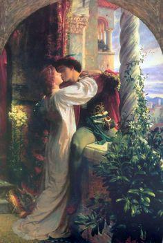 Sir Frank Dicksee - Romeo & Juliet