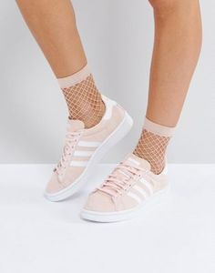 adidas Originals Campus Sneaker In Pale Pink