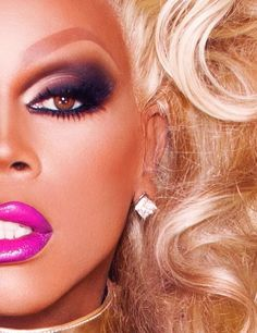 """I am obsessed with the drag world. """"If you can't love yourself, how in the hell are you going to love somebody else?"""" #nowdontfuckitup"""