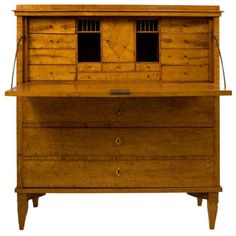 Shop secretaires and other antique and modern storage pieces from the world's best furniture dealers. Furniture Styles, Furniture Projects, Cool Furniture, Furniture Design, Antique Desk, Antique Furniture, Bookcase Desk, Empire, British Colonial
