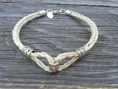 Custom Horsehair Bracelet  The Rio Grande by GensCowgirlCreations, $75.00