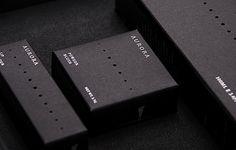 #packaging #minimal #design #black #box