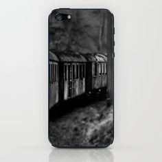 Spooky Train iPhone & iPod Skin Train railway railrod ghost eisenbahn geisterzug zug horror #Train #railway #railrod #ghost #eisenbahn #geisterzug #zug #horror