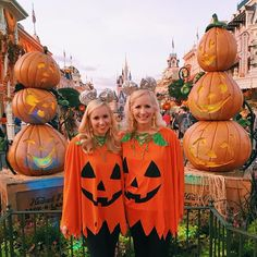 all pumpkin @ mickey's not so scary halloween party 🎃
