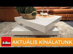 Aktuális kínálatunk - Dohányzóasztalok | Kika Magyarország - YouTube Youtube, Table, Furniture, Home Decor, Homemade Home Decor, Mesas, Home Furnishings, Desk, Decoration Home