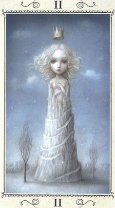 Ceccoli Tarot - High Priestess