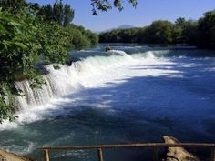 Alanya Turkey: Manavgat Waterfall Alanya Turkey, Side, Turkey Travel, What A Wonderful World, Wonders Of The World, Places To See, Istanbul, The Good Place, Greece