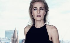 On the surface, Gillian Anderson appears icily controlled, but under the cool facade, there's a wild side.