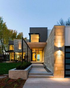 Amazing architecture entrance