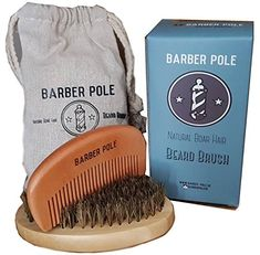 Travel Kits   Men's Beard Beard Brush, Beard Grooming, Travel Kits, Bearded Men, Gift Ideas, Christmas, Wild Boar, Casket, Pouch Bag