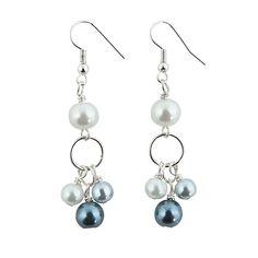 Pearl Dangle Earring Kit - OrientalTrading.com