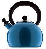 #10: Copco 2503-1345 Bella Enamel-on-Steel Tea Kettle 2-Quart Blue