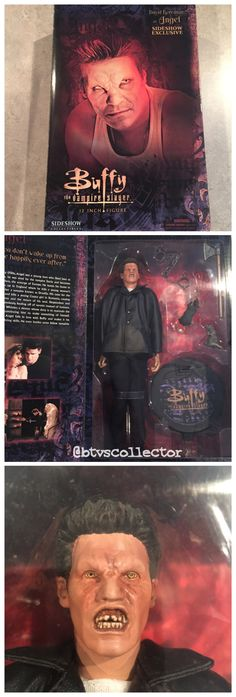 "Sideshow Collectibles (1:6 Scale) 12"" Buffy the Vampire Slayer Figure - Vampire Angel. 2004 SDCC Exclusive. Limited to 1000. #btvscollector #btvs #buffy #buffythevampireslayer"