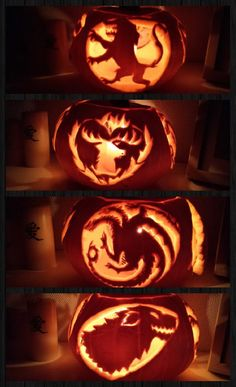 Game Of Thrones Pumpkin.