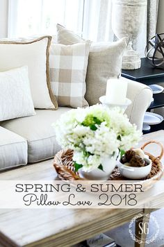SUMMER'S BEST DECORATIVE PILLOWS- See the very best of this spring and summer's pillows all in one place!