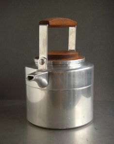 Finnish water kettle was designed by Eero Rislakki (*1924) and produced by Ammus-Sytytin Oy