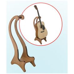 wood plans guitar stands