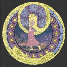 Cross Stitch Pattern for Rapunzel Kingdom by TheStitchingGirl