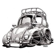 Vw Cartoon