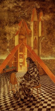 Remedios Varo.  First saw her work on exhibit in Mexico D.F. and have been fascinated ever since