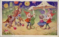 50651303 - Baumgarten, Fritz Personifizierter Frosch