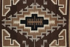 Navajo Rugs : Two Grey Hills Navajo Weaving by Lucy Simpson