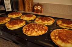 Wringing Out My Sponge: Coconut Flour Pancakes (sugar free • gluten free • low carb • dairy free)