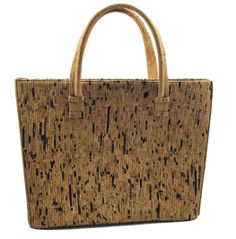 Gibralter Cork Purse - Vegan, Sustainable and truly head turning! Photos just don't do this justice!