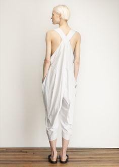 Issey Miyake  Sandstone Jumpsuit (Light Grey)