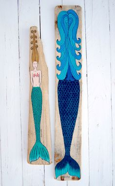 #Mermaid #Mermaids #Meerjungfrau - Painting Driftwood Painted Driftwoodart Treibholz Treibholzkunst Strandgut - website: www.kymastyle.com - shop: http://kymastyle.dawanda.com - http://facebook.com/kymastyle - http://instagram.com/kymastyle - http://twitter.com/kymastyle - contact 4 orders + infos: kymastyle@yahoo.com