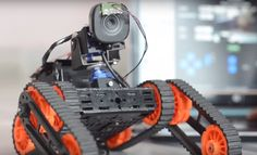 For assessing risky situations in tight spaces, sometimes it's best to send a small robotic rover in ahead of you.