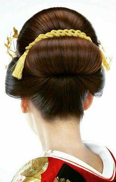 新井会 Korean Hairstyles Women, Asian Men Hairstyle, Japanese Hairstyles, Asian Hairstyles, Men Hairstyles, Geisha Makeup, Traditional Hairstyle, Asian Eye Makeup, Hair Arrange