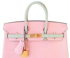 078811073c90 HSS Hermes Rose Sakura Gris Perle 25cm Chevre Birkin Special Order  Horseshoe VIP 6