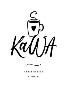 Polish Language, Little Black Books, Inspiration Wall, Brush Lettering, Powerful Words, My Coffee, Love Life, Words Quotes, Motto