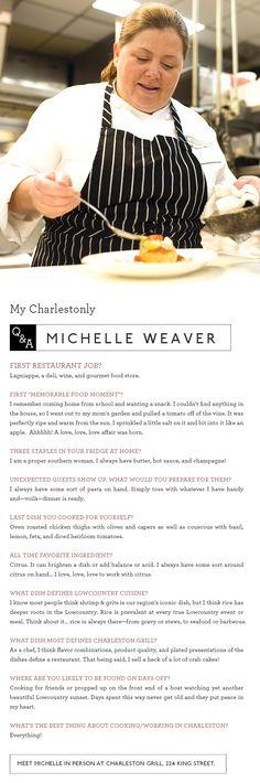 Michelle Weaver at Charleston Grill