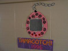 90's theme RA floor decoration