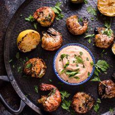 #delicious Grilled Garlic Jumbo Shrimp #foodie