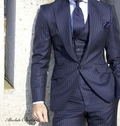 Absolute Bespoke Pinstripe Suit