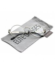 a6b64ac86ce Iambcoolin.com  zeroUV - Womens Round Sunglasses With UV400 Protected  Composite Lens (Black