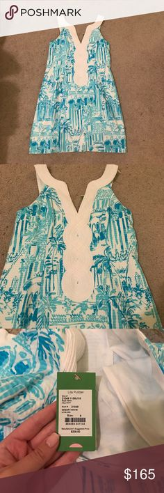 Lilly Pulitzer Valli Shift NWT Lilly Pulitzer Valli Shift in Resort White Lilly Pulitzer Dresses