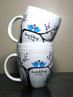 painting on coffee mugs - Google Search