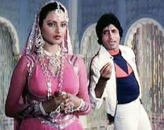 Image result for free download 1978 old bollywood star rekha with various heroes images