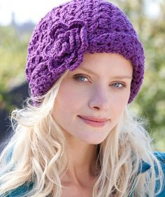 Free Crochet Hat Patterns | Easy Crocheted Hat Patterns | Free chemo-caps-knit-crochet-or-sew